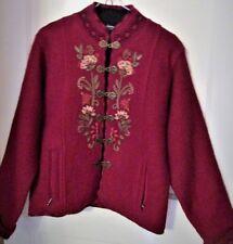 Woman's Small Icelandic Boiled Wool Jacket