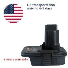 Dewalt Milwaukee Dcb205 M18 20V to Dc9096 18V or Dc970 dca1820 Adaptersconverter
