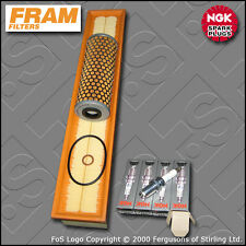 SERVICE KIT for MERCEDES C200K W203 2.0 16V FRAM OIL AIR FILTER PLUG (2000-2002)