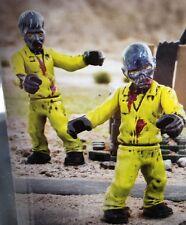 *MEGA BLOKS CALL OF DUTY* Hazmat Zombies Mob Set - Figures # 1 & 2