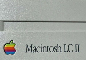 Apple Macintosh LC II Logic Board & Power Supply Re-Capped, Boxed.
