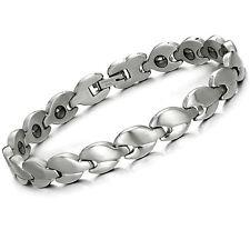 Edelstahl Magnetarmband Damen Herren Hämatit Magnet Armband Armschmuck S8014
