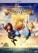 "BRAND NEW Disney TinkerBell ""The Pirate Fairy"" (DVD, 2014) w/ DISNEY MAGIC CODE"