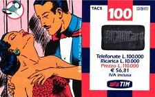 SCHEDA RICARICA USATA TIM NARDA 100 GIU.2002 18M OCR 14 CAB 23