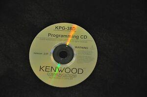 KENWOOD KPG-38D TK-290 / TK-390 programming software OS Windows