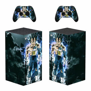 Dragon Ball Vinyl Skin Protector Sticker for Xbox Series X Console Controllers