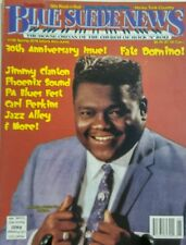 Blue Suede News Spring 2016 30th Anniversary Issue Fats Domino FREE SHIPPING sb