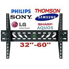 MONTAGGIO A PARETE TV STAFFA SLIM 32 34 37 40 42 46 48 50 52 60 70 pollici LCD LED PLASMA