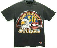 Vintage 1988 Sturgis Harley-Davidson Men's Size Small T Shirt Motorcycles Rare