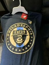 MLS PHILADELPHIA UNION SOCCER T-SHIRT 2XL  (NEW WITH TAGS)