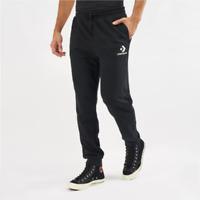 Mens Converse Chevron Logo  Jogger Pants Black/White 10008321-A01 Sizes XL - 2XL
