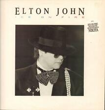 Elton John(Vinyl LP)Ice On Fire-Rocket Record Co.-HISPD 26-UK-1985-Ex/VG