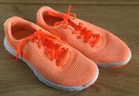 Ladies Nike Flex Experience RN5 Trainers uk Size 4 Min Wear Orange
