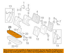 TOYOTA OEM 2010 Camry Rear Seat-Cushion Cover 7107533880B0