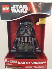 LEGO STAR WARS DARTH VADER ALARM CLOCK 9002137 DISNEY FREE SHIPPING