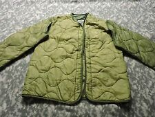 US ARMY FIELD JACKET LINER SMALL MILITARY FOR M65 COAT