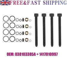 4 Set Injector Seal & Clamp Bolts For 1.9 2.0 TDi Audi VW Seat Skoda 038103385A