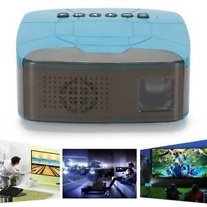 4K 1080P HD Projektor Videoprojektor Beamer Heimkino WiFi Bluetooth 3D LED Min