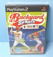 Backyard Sports Baseball 2007 Playstation 2 PS2 BRAND NEW FACTORY SEALED