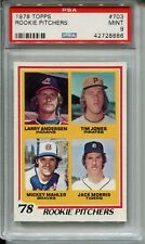 1978 Topps Baseball #703 Jack Morris Rookie Card RC PSA MINT 9