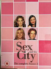 sarah jessica parker kim cattrall Sex & THE CITY SAISON 2 ~ HBO SÉRIE RU DVD
