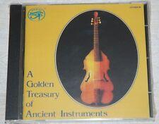A Golden Treasury of Ancient Instruments NEW & Sealed CD 40 Tracks, Amon Ra