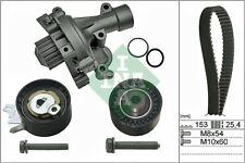 CITROEN C4 UD 2.0 Timing Belt & Water Pump Kit 07 to 13 RFJ(EW10A) Set INA New