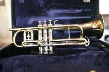 Conn 80A VICTOR CORNET WITH NICKLE SILVER SLIDES AND VALVES