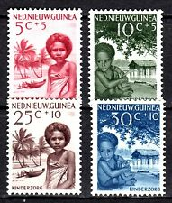 Dutch New Guinea - 1957 Child care - Mi. 45-48  MH