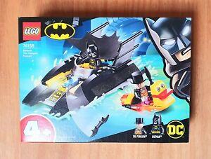NEW LEGO 76158 DC COMICS SUPERHEROES BATMAN: BATBOAT THE PENGUIN PURSUIT SEALED