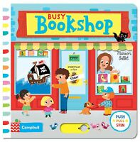 NEW! Busy Bookshop by Marion Billet (Board book, 2014)
