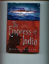 br- The Empress of India: A Professor Moriarty Novel, M Kurland 1st US, HBdj VG