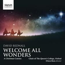 Welcome all Wonders-A Christmas Cantata von Rees,Desbruslais,Choir of The Queens College (2013)