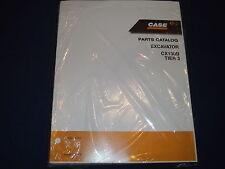 CASE CX130B TIER 3 EXCAVATOR PARTS BOOK MANUAL