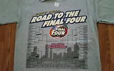 2007 NCAA Road To The Final Four Bracket T-Shirt! New With Tag! Florida Gators!!