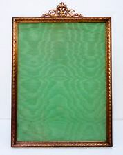 ANTIQUE HUGE FRENCH EMPIRE GILT ORMOLU PICTURE FRAME - RIBBON & BOWS