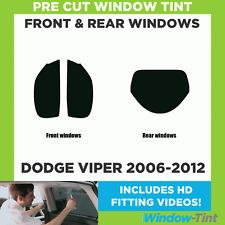 Pre Cut Window Tint - Dodge Viper 2006-2012 - Full Kit
