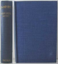 1912 SAMPHIRE BY LADY SYBIL GRANT WRITER AND ARTIST ESSAYS SATRICAL & HUMEROUS