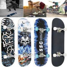 Skateboard Holzboard Deck Funboard Komplett Skate Board Ahornholz ABEC--7 /9 DE