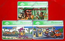 Animation/Cartoons BT Collectable Phone Cards
