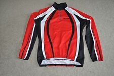 ALEX CYCLING JERSEY MEN SIZE XL LONG SLEEVE