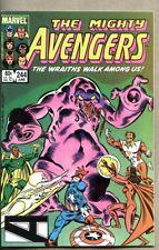 Avengers #244-1984 nm- The Avengers battle Dire Wraiths