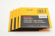 Kodak Wratten 87 Infrared Filter 4x4 inch 100mm 149 7759 1497759