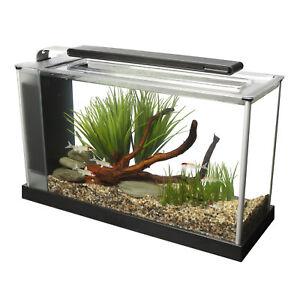 Fluval Spec 19 L - white Desktop Glass Aquarium LED high Output Light