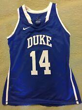 Nike Duke University Embroidered Basketball Jersey NCAA, Women's Medium NWT