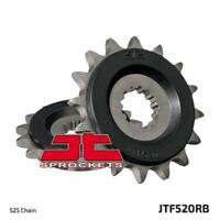 JT Rubber Cushioned Front Drive Motorcycle Sprocket JTF520RB 17 Teeth
