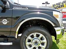FORD F-250/350 SUPER DUTY 2011-2015 TFP Polished Stainless Fender Trim Molding