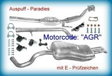 Abgasanlage + Katalysator Skoda Octavia 1.9 TDI Typ 1U2 & 1U5 Motor AGR 90PS+Kit