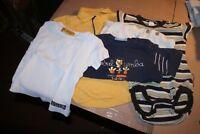 Lot de 2 body 12mois garçon manches-1 longues et-1 courtes 3 tee-shirt 12 mois