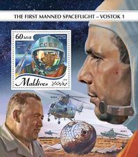 Maldives 2018  Space flight – Vostok 1    S201809